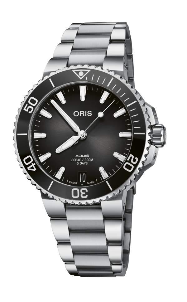 Oris Aquis Date calibre 400 01 400 7769 4154-07 8 22 09PEB - Gioielleria Casavola Noci - orologio automatico subacqueo - main