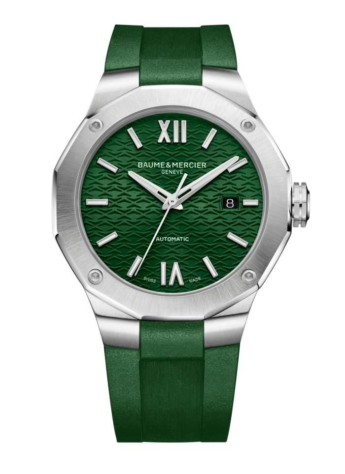 Baume et Mercier Riviera M0A10618 - Gioielleria Casavola Noci - orologio automatico uomo verde - main