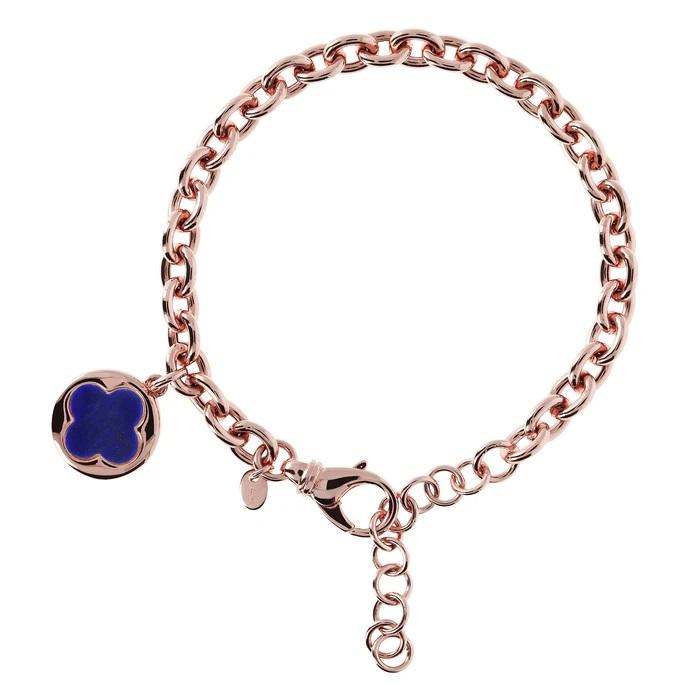 Bracciale quadrifoglio Bronzallure WSBZ00912LA - Gioielleria Casavola Noci - idee regalo donne per ogni occasione - main - oggetto portafortuna