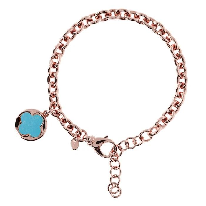 Bracciale quadrifoglio Bronzallure WSBZ00912MG - Gioielleria Casavola Noci - idee regalo donne per ogni occasione - main - oggetto portafortuna