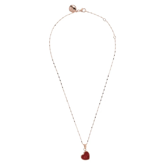 Collana cuoricino Bronzallure WSBZ01892RDW - Gioielleria Casavola Noci - idee regalo donne per ogni occasione - completa