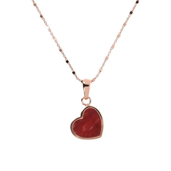 Collana cuoricino Bronzallure WSBZ01892RDW - Gioielleria Casavola Noci - idee regalo donne per ogni occasione - main