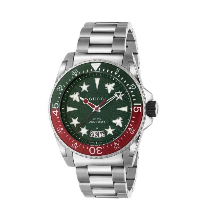 Gucci Dive Timepieces YA136222 - Gioielleria Casavola Noci - orologio acciaio fashion subacqueo