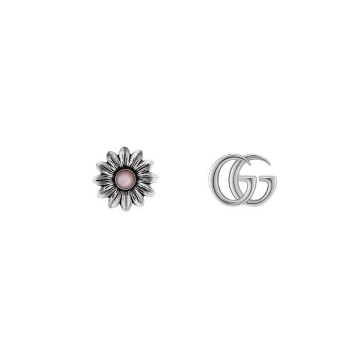 Gucci Jewelry Argento YBD527344002 - Gioielleria Casavola Noci - orecchini donne fashion moda