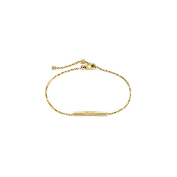Gucci Jewelry YBA662106001 - Gioielleria Casavola Noci - bracciale in oro giallo - idee regalo unisex