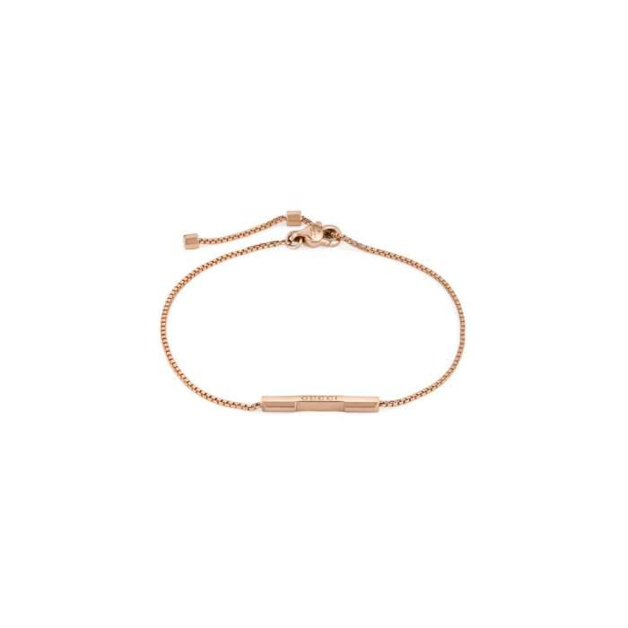 Gucci Jewelry YBA662106002 - Gioielleria Casavola Noci - bracciale in oro rosa - idee regalo unisex