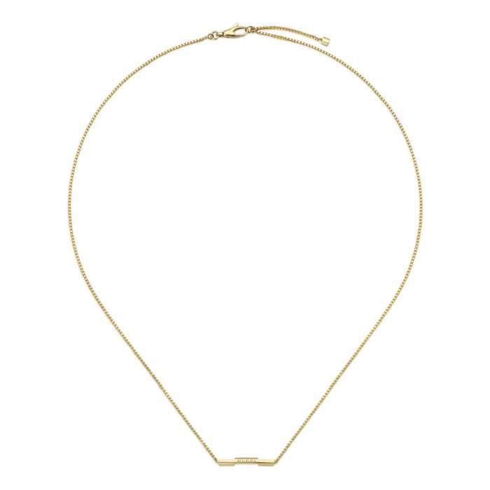 Gucci Jewelry YBB662108001 - Gioielleria Casavola Noci - collana in oro giallo - idee regalo donne
