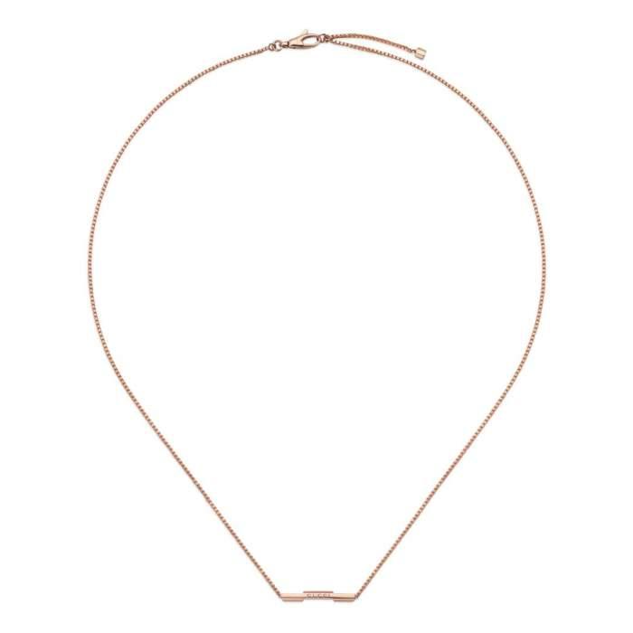 Gucci Jewelry YBB662108002 - Gioielleria Casavola Noci - collana in oro rosa - idee regalo donne