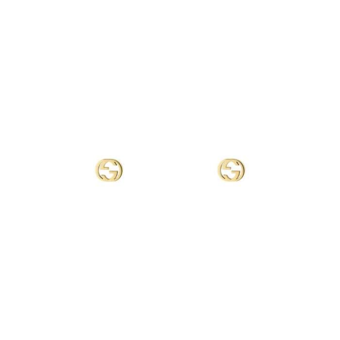 Gucci Jewelry YBD66211100100U - Gioielleria Casavola Noci - orecchini oro giallo - idee regalo donne