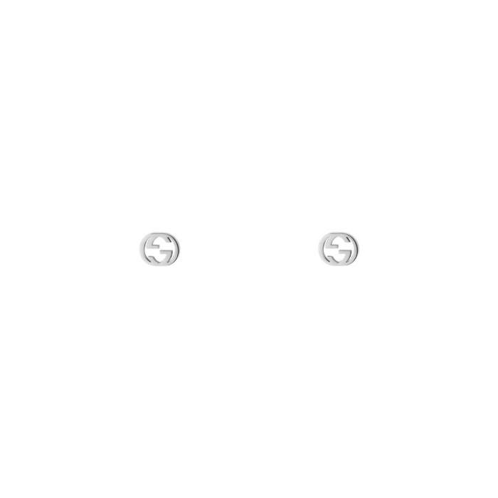 Gucci Jewelry YBD66211100200U - Gioielleria Casavola Noci - orecchini in oro bianco - idee regalo donne