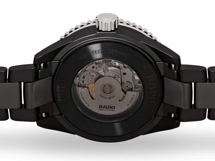 Rado Captain Cook R32127152 - Gioielleria Casavola Noci - orologio automatico ceramica uomo - fondello vetro zaffiro