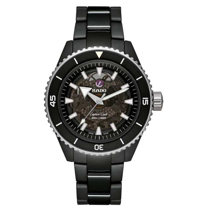 Rado Captain Cook R32127152 - Gioielleria Casavola Noci - orologio automatico ceramica uomo - main