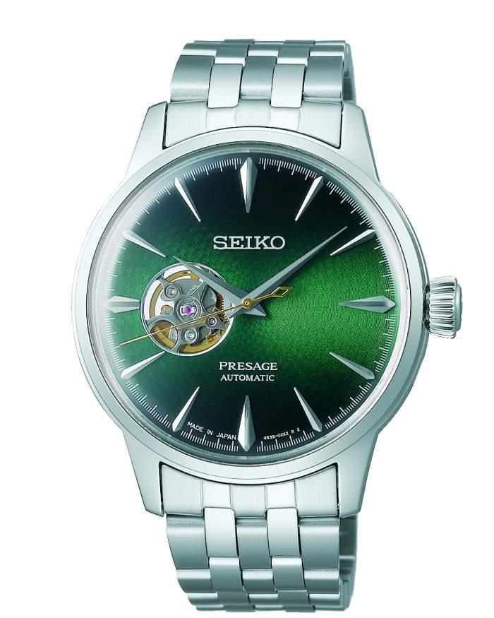 Seiko Presage Automatic SSA441J1 - Gioielleria Casavola Noci - orologio da uomo acciaio