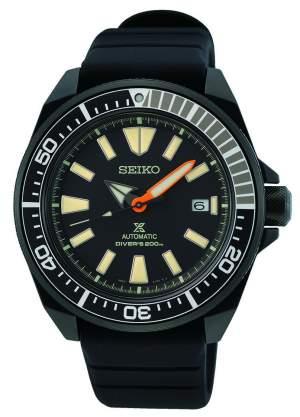 Seiko Prospex Black Series SRPH11K1 - Gioielleria Casavola Noci - orologio subacqueo automatico per immersioni notturne