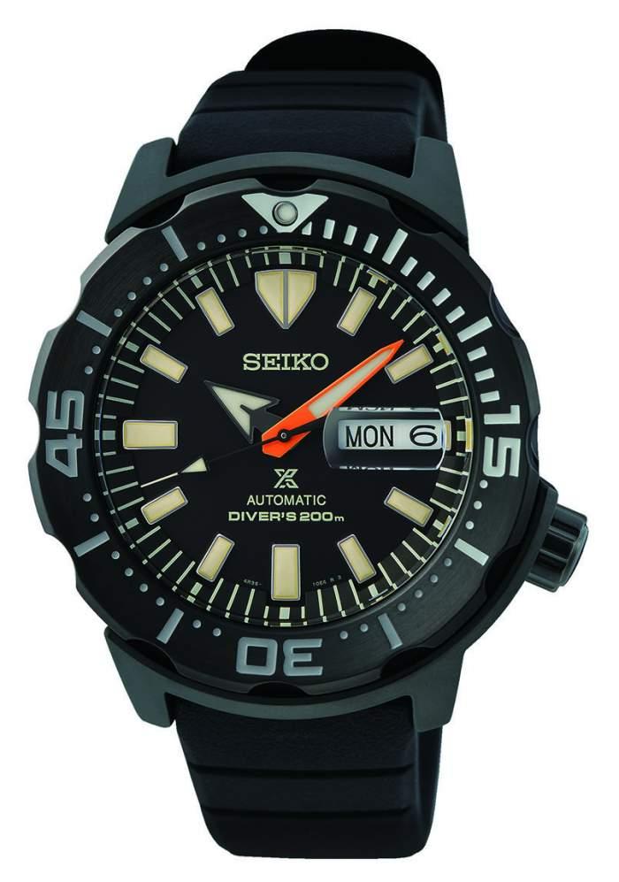 Seiko Prospex Black Series SRPH13K1 - Gioielleria Casavola Noci - orologio subacqueo uomo immersioni notturne