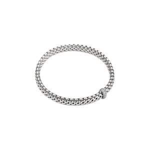 Bracciale Fope Vendrome oro bianco e diamanti - Gioielleria Casavola Noci - idee regalo donne