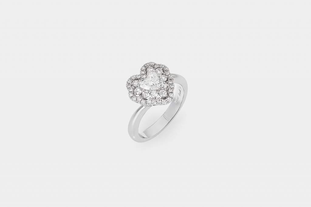 Crivelli I Will I Do anello cuore oro bianco - Gioielleria Casavola Noci - idee regalo - gioielli da sposa