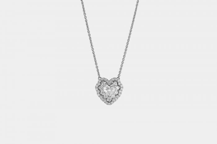Crivelli I Will I Do girocollo cuore oro bianco - Gioielleria Casavola Noci - idee regalo - gioielli da sposa