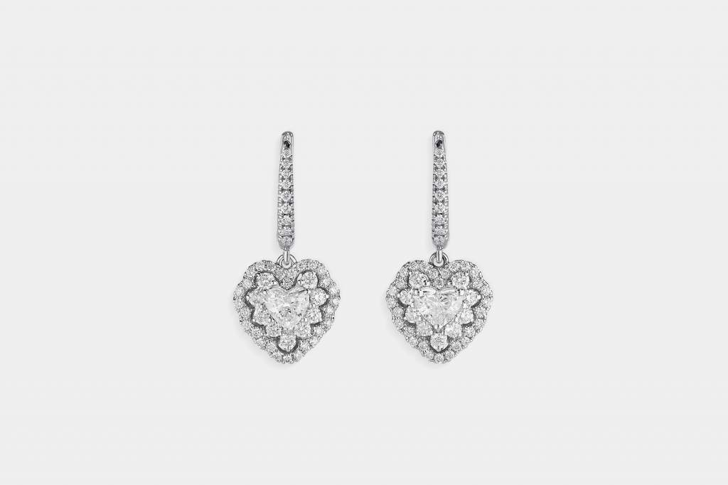 Crivelli I Will I Do orecchini cuore oro bianco - Gioielleria Casavola Noci - idee regalo donne - gioielli da sposa