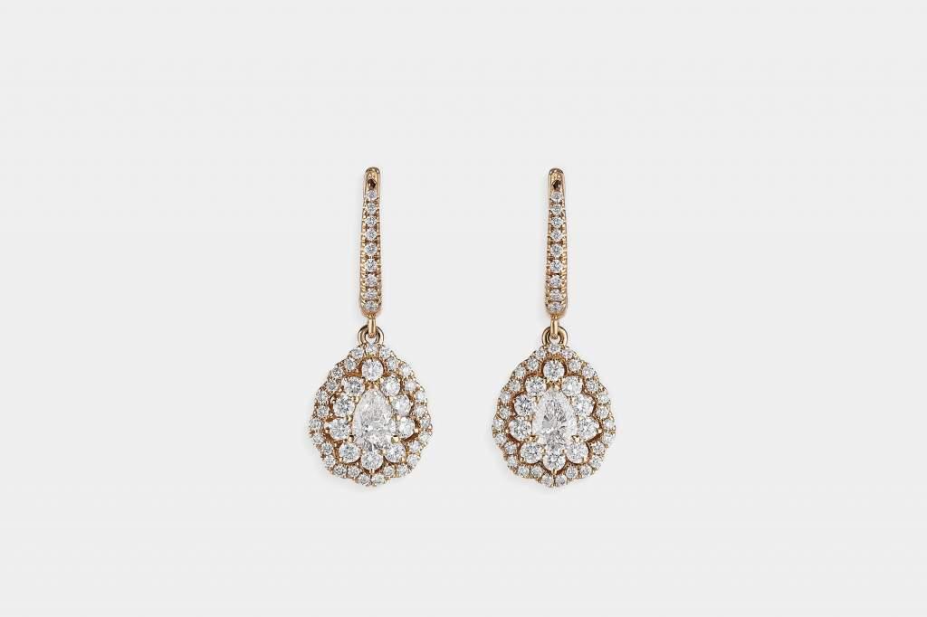 Crivelli I Will I Do orecchini goccia oro rosa - Gioielleria Casavola Noci - gioielli da sposa - idee regalo