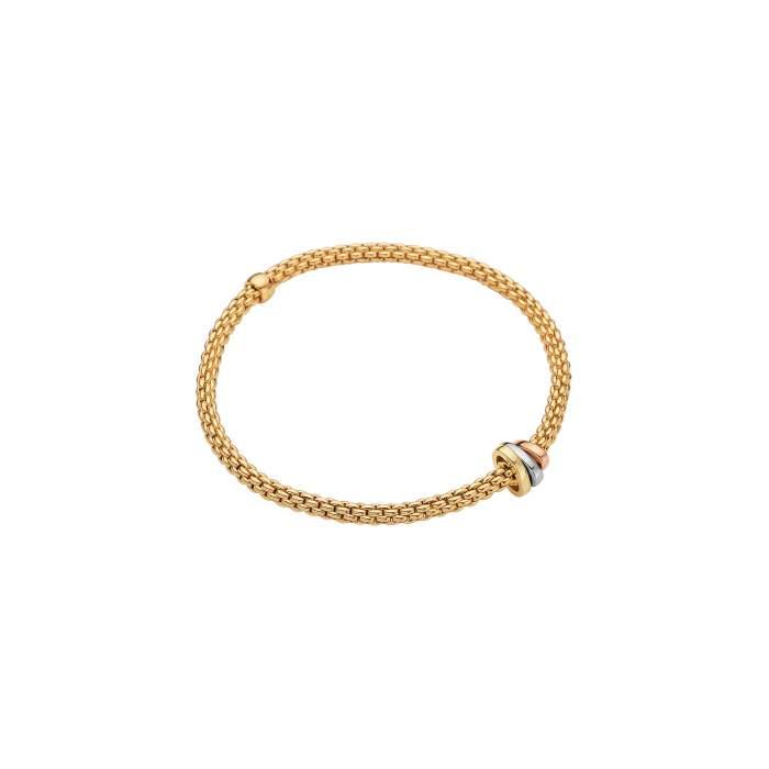 Fope Flex it bracciale Prima oro giallo 744BM - Gioielleria Casavola Noci - idee regalo donne per ogni occasione
