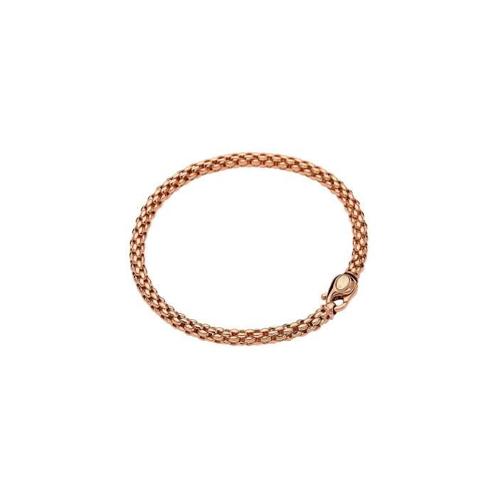 Fope bracciale Flex it Solo oro rosa 610B - Gioielleria Casavola Noci - idee regalo donne per ogni occasione