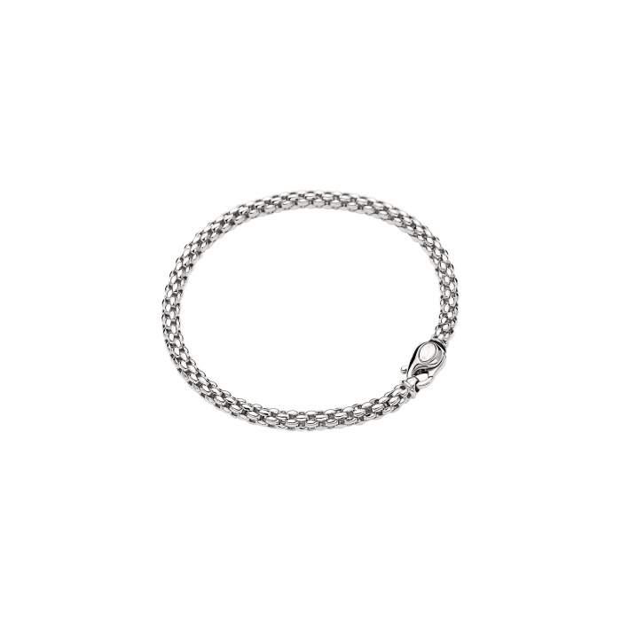 Fope bracciale Solo oro bianco 610B - Gioielleria Casavola Noci - idee regalo donne per ogni occasione