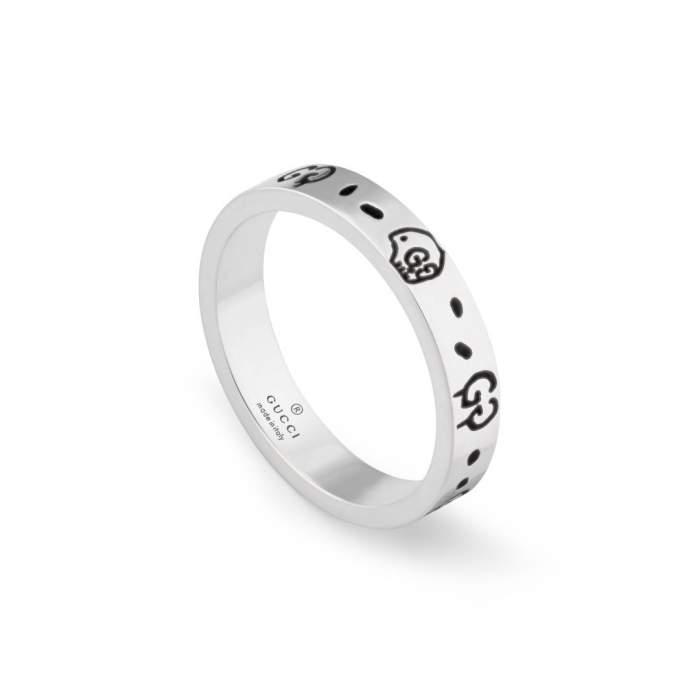 Gucci Jewelry Argento YBC477339001 - Gioielleria Casavola Noci - anello donna fedina