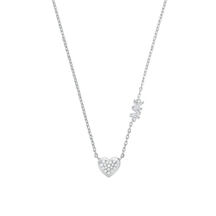Michael Kors collana MKC1459AN040 - Gioielleria Casavola Noci - idee regalo donne - gioiello cuore - main