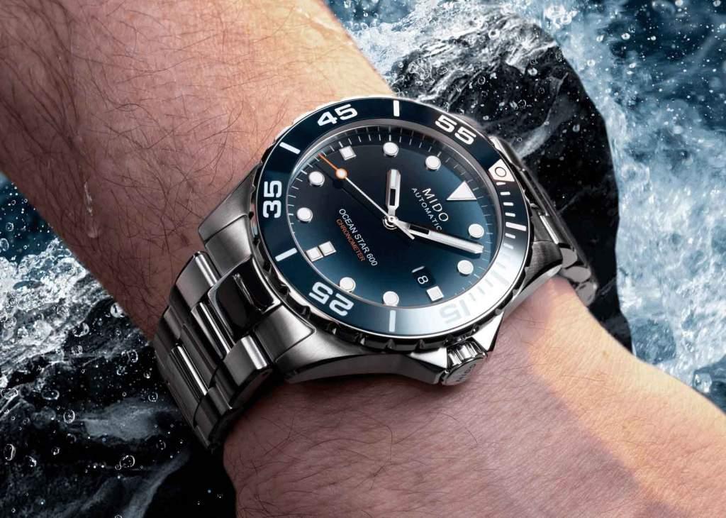 Mido Ocean Star Diver 600 M026.608.11.041.01 - Gioielleria Casavola Noci - orologio subacqueo uomo professionale - indossato