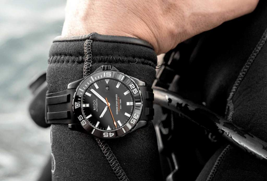 Mido Ocean Star Diver 600 M026.608.37.051.00 - Gioielleria Casavola Noci - orologio subacqueo uomo professionale - indossato