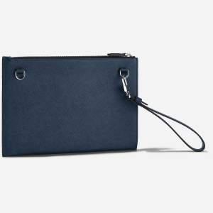 Montblanc Sartorial borsello 128571 - Gioielleria Casavola Noci - idee regalo unisex - tracolla blu