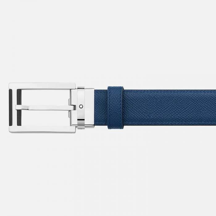 Montblanc cintura reversibile 126009 - Gioielleria Casavola Noci - idee regalo uomo - dettaglio