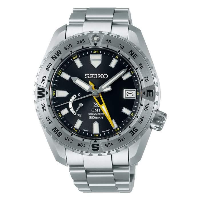 Seiko Prospex LX Line SNR025J1 - Gioielleria Casavola Noci - orologio GMT automatico uomo bussola