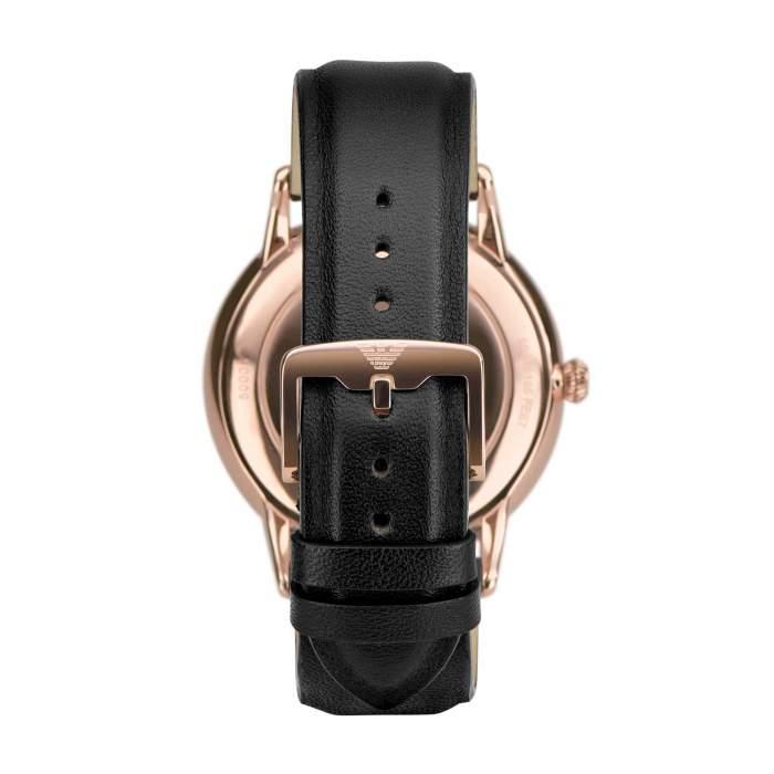 Emporio Armani Swiss Made ARS5000 - Gioielleria Casavola Noci - orologio automatico svizzero uomo - dress watch - back