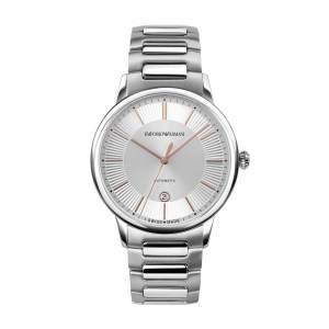Emporio Armani Swiss Made ARS5104 - Gioielleria Casavola Noci - orologio uomo acciaio automatico - stainless steel mens watches - main