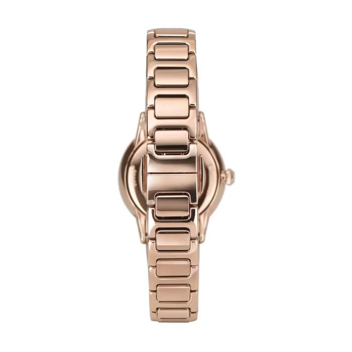 Emporio Armani Swiss Made ARS5301 - Gioielleria Casavola Noci - orologio donne diamanti - rose gold - bracciale