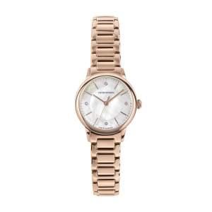 Emporio Armani Swiss Made ARS5301 - Gioielleria Casavola Noci - orologio donne diamanti - rose gold - main