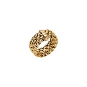 Fope anello Flex it Essentials oro giallo AN05 - Gioielleria Casavola Noci - idee regalo donne - gioiello flessibile