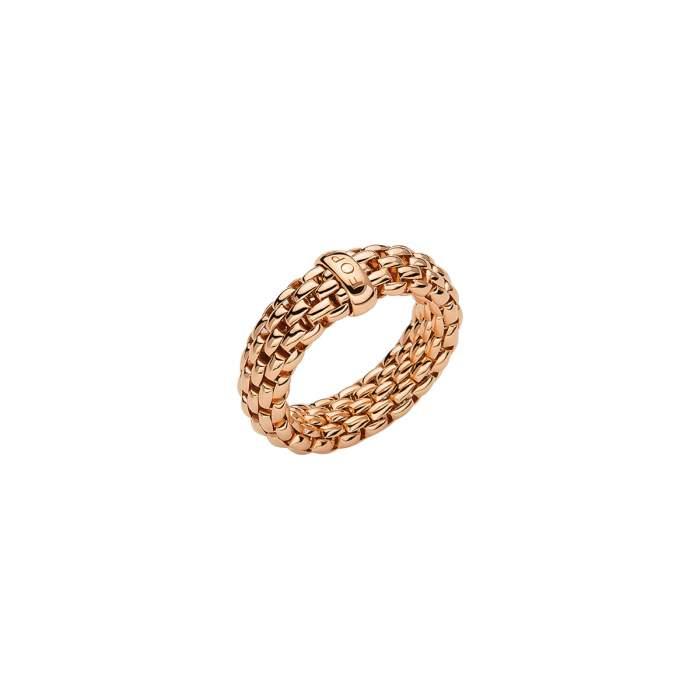 Fope anello Flex it Essentials oro rosa AN559 - Gioielleria Casavola Noci - idee regalo donne - gioiello flessibile