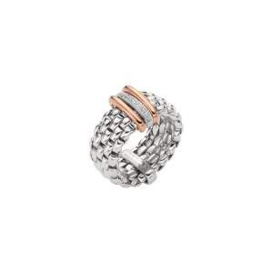 Fope anello Panorama Flex'it oro bianco AN587BBR - Gioielleria Casavola Noci - idee regalo donne - flexible ring