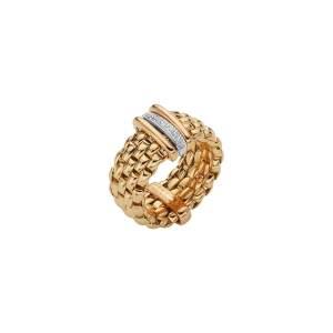 Fope anello Panorama Flex'it oro giallo AN587BBR - Gioielleria Casavola Noci - idee regalo donne - flexible ring