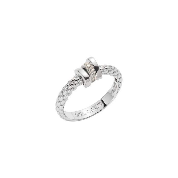Fope anello Prima oro bianco AN743-BBR - Gioielleria Casavola Noci - idee regalo donne - diamanti