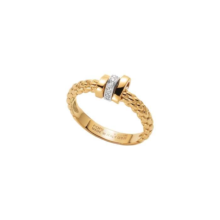 Fope anello Prima oro giallo AN743-BBR - Gioielleria Casavola Noci - idee regalo donne - diamanti