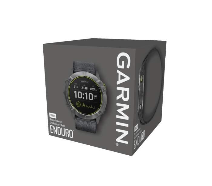 Garmin Enduro - Gioielleria Casavola Noci - sportwatch GPS multifunzione - box originale