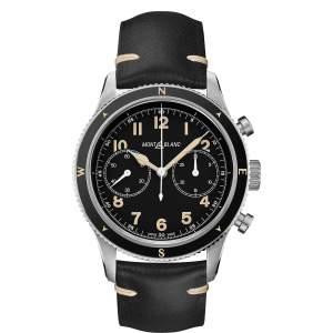 Montblanc 1858 cronografo 126915 - Gioielleria Casavola Noci - orologio automatico uomo - field chronograph watch - main