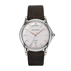 Emporio Armani Swiss Made ARS3502 - Gioielleria Casavola Noci - orologio automatico uomo elegante - daydate - main