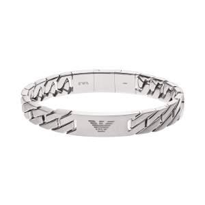 Emporio Armani bracciale EGS2435040 - Gioielleria Casavola Noci - idee regalo uomo - gioiello rapper - acciaio inox - main