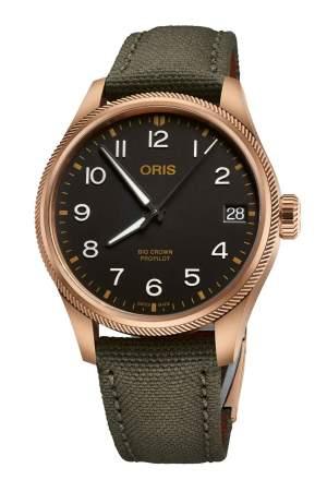 Oris Big Crown ProPilot Big Date 01 751 7761 3164-07 3 2003BRLC - Gioielleria Casavola Noci - orologio automatico in bronzo